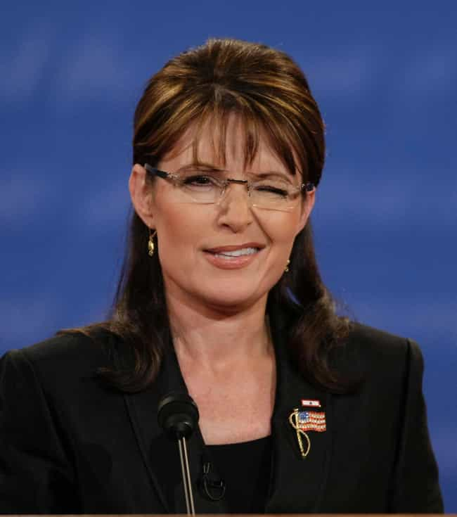 Sarah Palin is listed (or ranked) 4 on the list The Most WTF Things Politicians Said in 2014