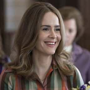 Sarah Paulson, 'Mrs. America'  is listed (or ranked) 24 on the list 50 Snubs From The 2020 Emmy Nominations
