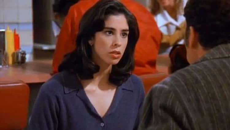 Sarah Silverman As Kramer's Girlfriend