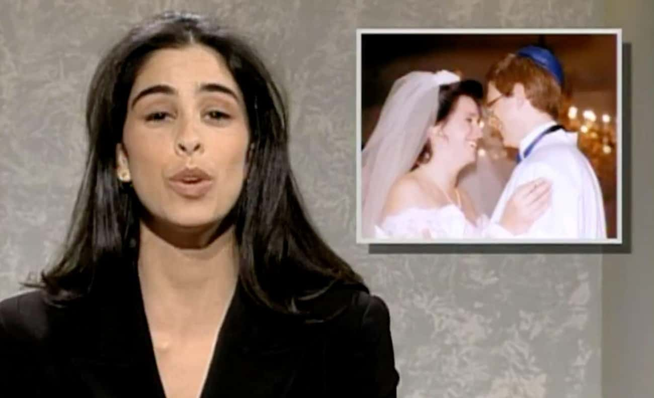 Sarah Silverman is listed (or ranked) 3 on the list 20 Actors You Didn't Know Were On SNL (Or Managed To Forget)
