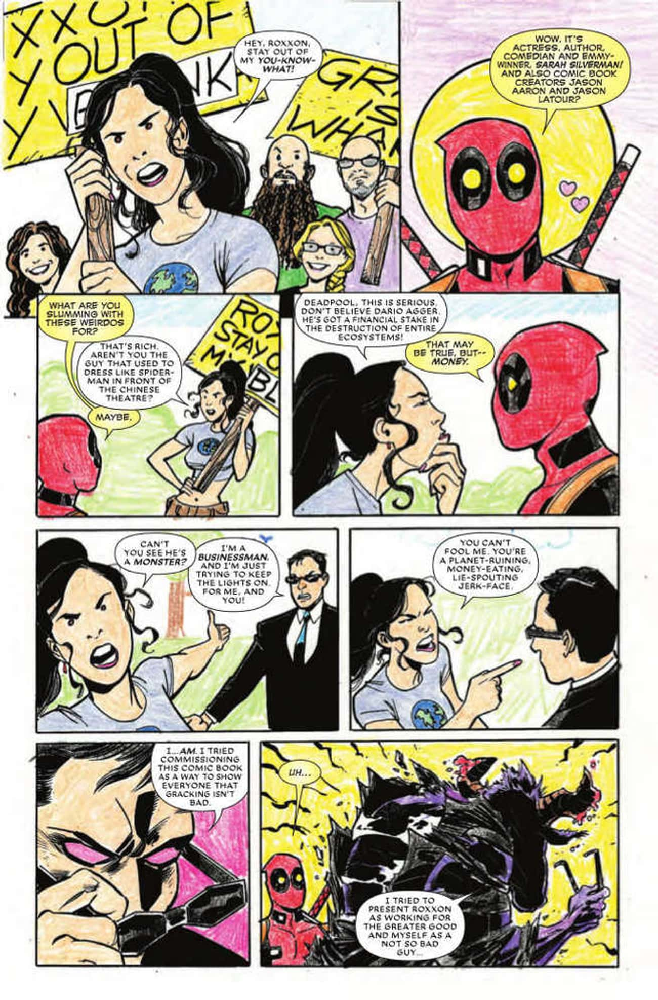 Sarah Silverman is listed (or ranked) 1 on the list 50+ Celebrities Who Have Appeared in Comic Books
