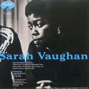 Sarah Vaughan is listed (or ranked) 14 on the list The Best Musical Artists From New Jersey