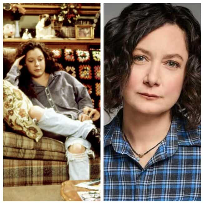 Sara Gilbert is listed (or ranked) 3 on the list What The Cast Of 'Roseanne' Looks Like Over 20 Years Later