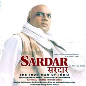 Sardar is listed (or ranked) 6 on the list The Best Movies About Gandhi, Ranked