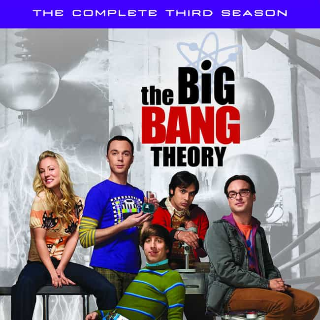 The Big Bang Theory - Season 3 is listed (or ranked) 1 on the list The Best Seasons of The Big Bang Theory