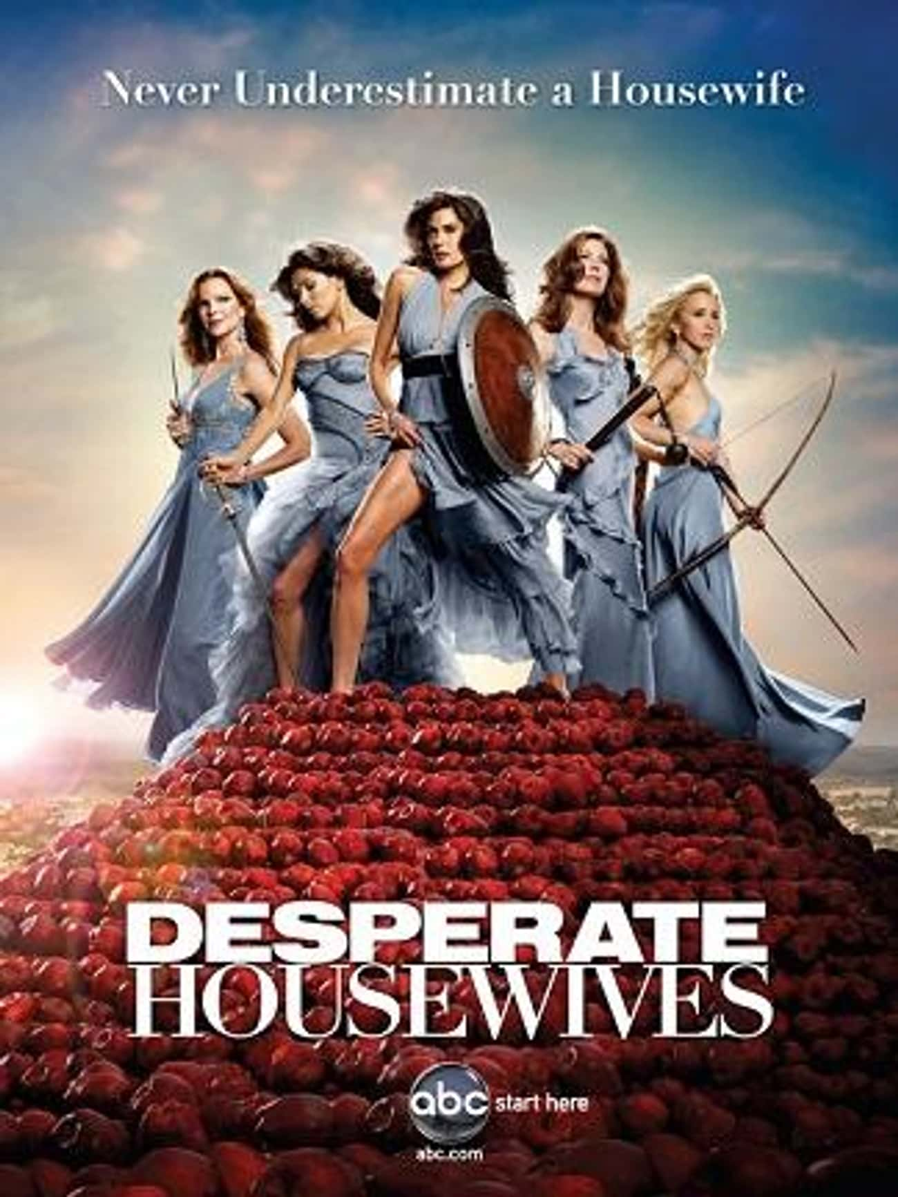 Desperate Housewives - Season  is listed (or ranked) 4 on the list The Best Seasons of Desperate Housewives